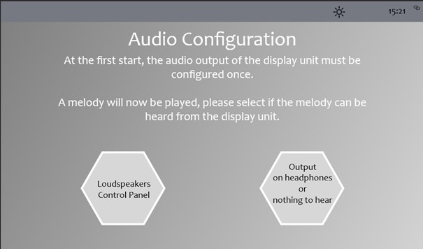 audio config prime en